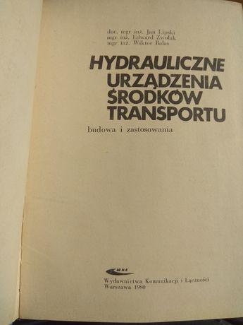 Hydrauliczne urzadzenia srodkow transportu 1980