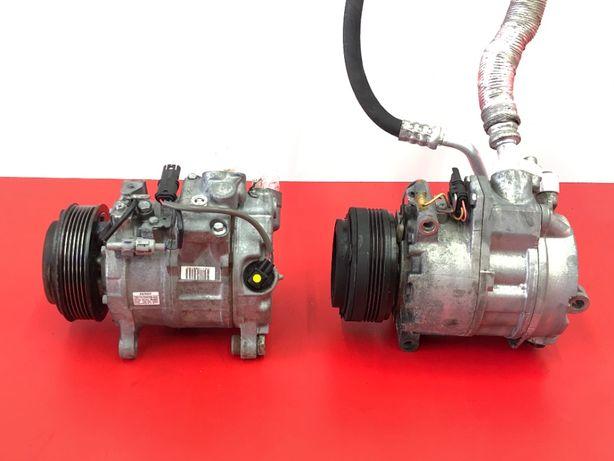 Компрессор кондиционера BMW X5 E70 компресор 3.0d 3.5d БМВ Х5 Е70 Шрот