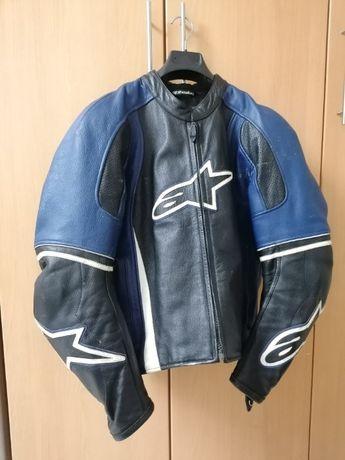 Casaco Pele Moto Alpinestars Tamanho 50 TROCO
