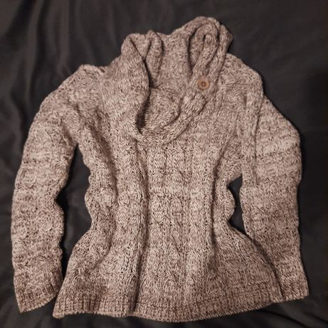 Sweter gruby  ciepły