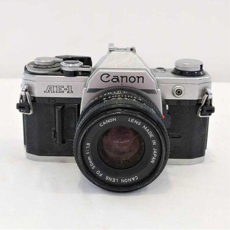 Máquina Fotográfica Analógica Canon AE-1