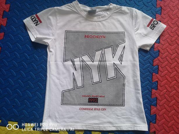 T-shirt chłopięcy roz. 122-128