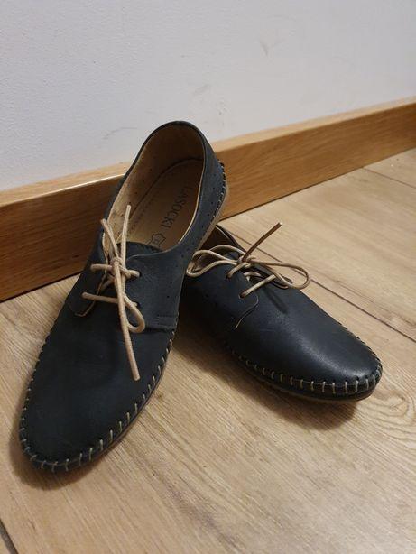 Buty trzewiki skórzane lasocki r 37