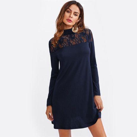 платье очень красивое, длина мини
