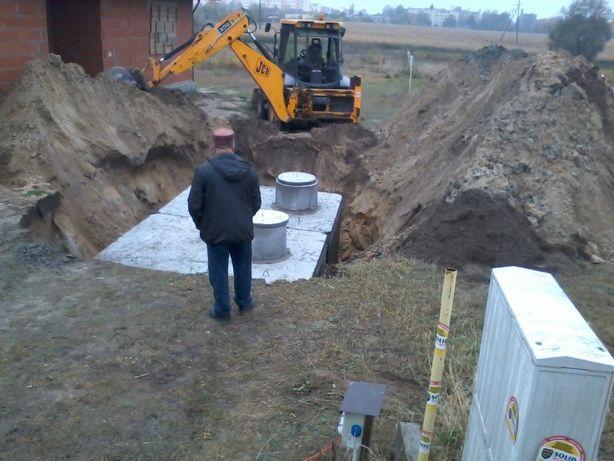szamba szambo betonowe zbiornik na deszczówkę 10m3