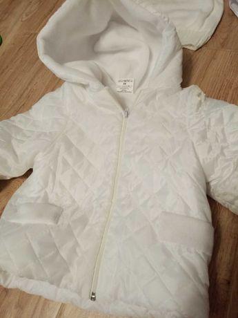 Zimowy Komplet do chrztu, garnitur +kurtka