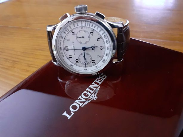 Longines Heritage Lindbergh Atlantic Voyage Ref. L2.730.4 - NOVO