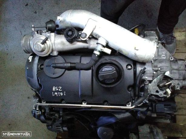 Motor Seat Ibiza / Leon / Alhambra / VW Golf IV / Bora / Audi A3 / Ford Galaxy 1.9 Tdi Ref: ASZ