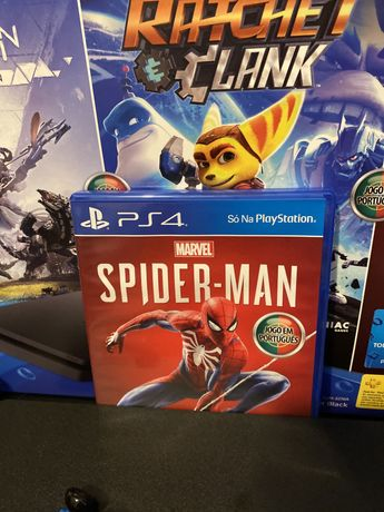 Jogo playstantion 4 spider man