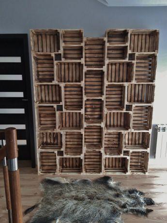Skrzynka ozdobna OPALANA drewniana 40x30x20 meble Producent HIT