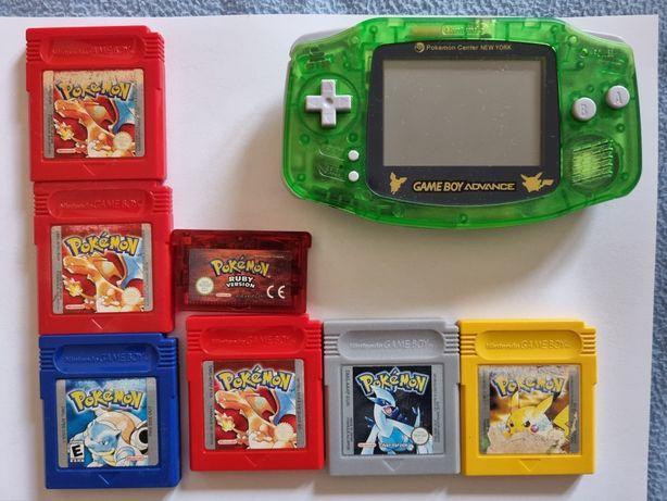 Jogos pokemon originais + consola game boy