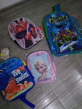 Plecak Frozen Nemo Spiderman żółwie ninja