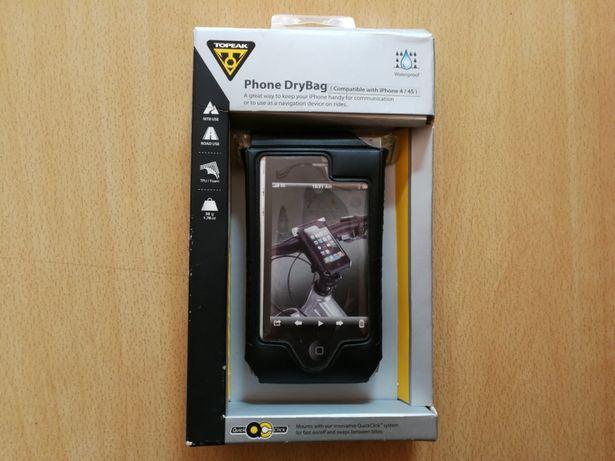 Wodoodporny uchwyt rowerowy Topeak do telefonu iPhone 4 lub 4s