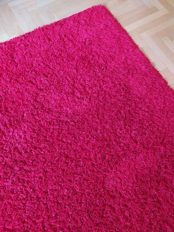 Dywany duży czerwony shaggy 160/220