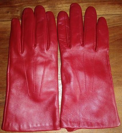 Кожаные, женские перчатки Tommy & Kate