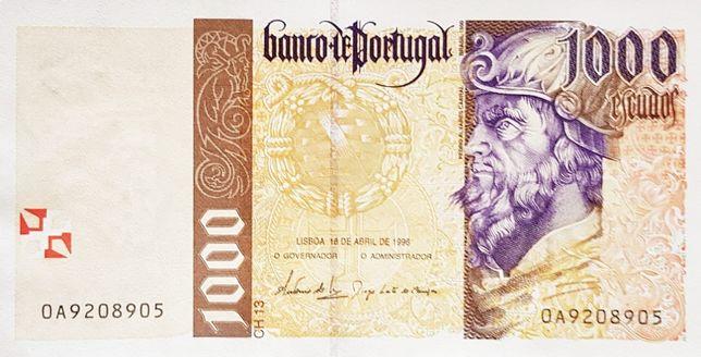 1000 Escudos - 1996/04/18 - P-188a.5 - UNC - NOVA