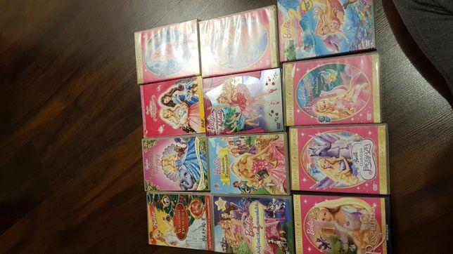 Bajki Barbie filmy DVD dla dzieci 13szt