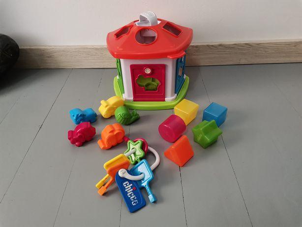 Brinquedo Chicco casinha dos animais