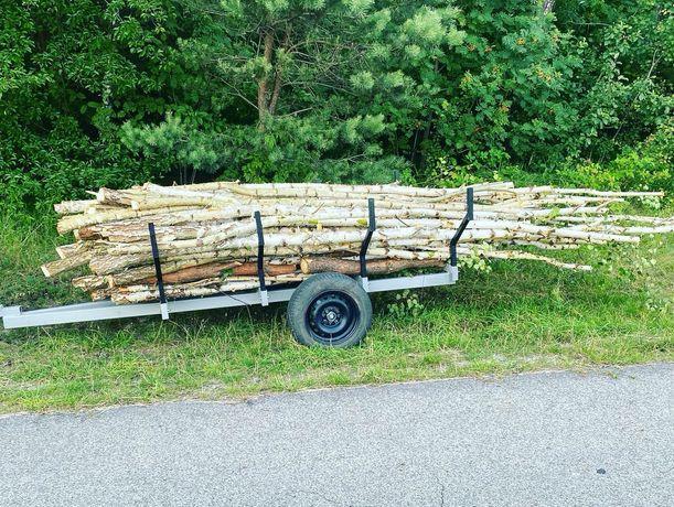 Przyczepa leśna do quada  ogrodowa sadownicza na działki metry drewno