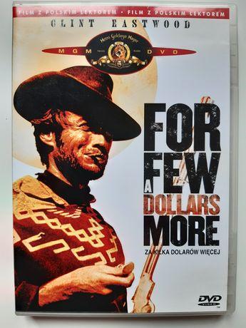 """Western na DVD """"Za kilka dolarów więcej"""". Clint Eastwood"""