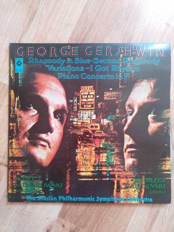 Płyta winylowa George Gershwin podwójny album Błękitna Rapsodia