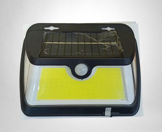 Уличный фонарь прожектор на солнечной батарее 5Вт с датчиком движения