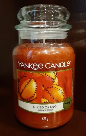 Świeca Yankee Candle - Spiced Orange, 623g (duża) Pikantna Pomarańcza