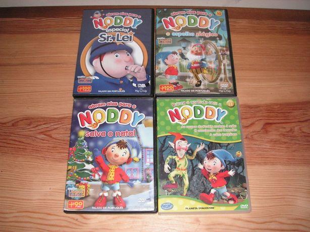 DVD´S Noddy - Abram Alas e Brinca e Aprende
