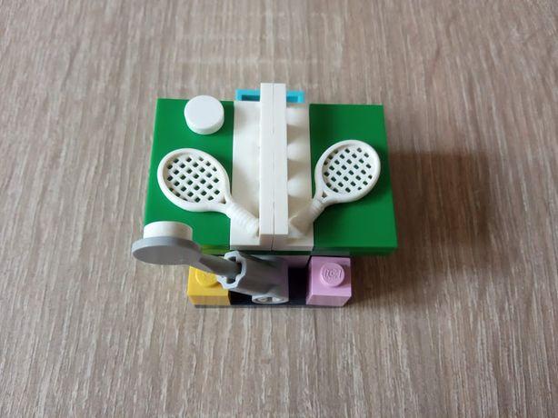 Mini zestaw lego friends Stół do ping-ponga z rakietami