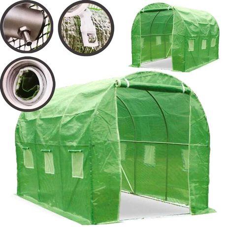 Ogrodowy Tunel Foliowy 3x2x2m Szklarnia Folia 6m2
