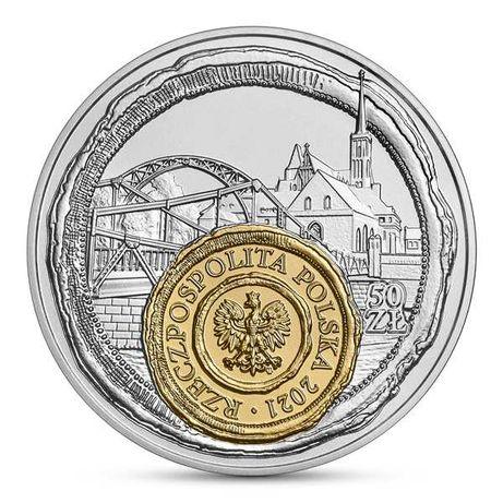 Moneta 50 zł Wrocław – mała ojczyzna - 2021