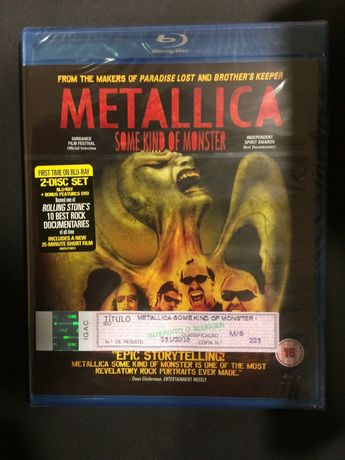 Metallica - Some Kind of Monster BLU-RAY + Bonus DVD