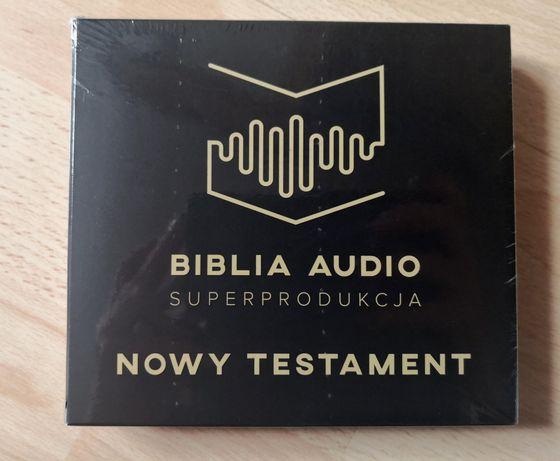 Biblia Audio Nowy Testament CD nowe