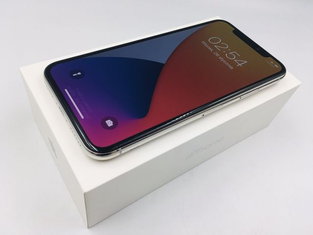 iPhone X 256GB SILVER • PROMOCJA • GWAR 1 MSC • AppleCentrum