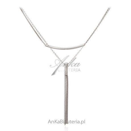 ankabizuteria.pl naszyjnik z palmą Srebrny naszyjnik Piękna biżuteria