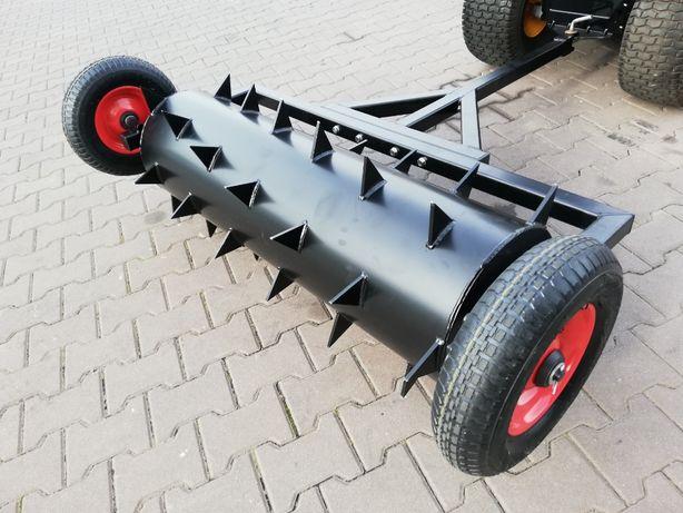 Aerator na kołach 100 cm solidny do traktora ogrodowego od TRAK-TOM