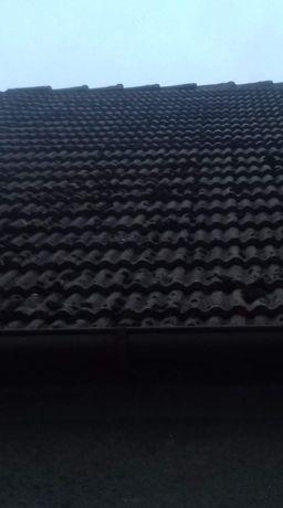 Stara dachówka betonowa