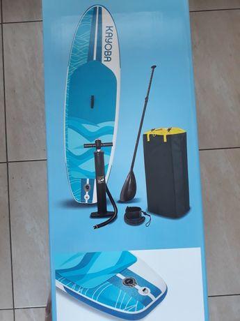 Deska SUP Stand Up Paddle Board KAYOBA  Nowa 120 kg.