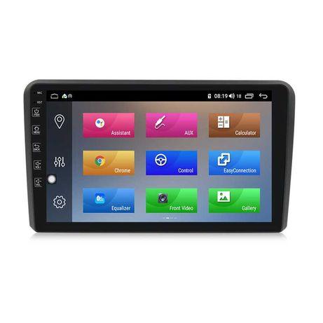 Audi A3 Radio Android GPS Bluetooth ecrã