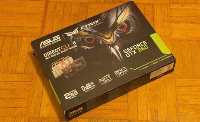 Karta Graficzna ASUS GeForce GTX 960 Strix 2GB
