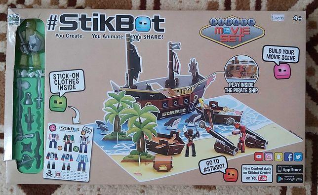Детская игра Stikbot Pirate Стикбот Пират от 7 лет