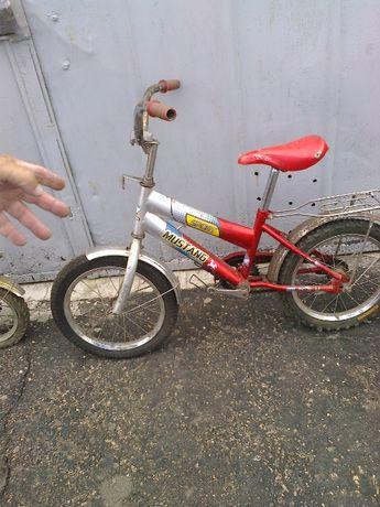 Детский велосипед для ребенка 4-6 лет Спорт Мустанг