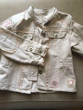 Джинсовый пиджак 4-6 лет