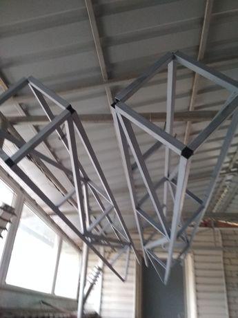 Продаю ферма металлоконструкция для дымохода монтаж