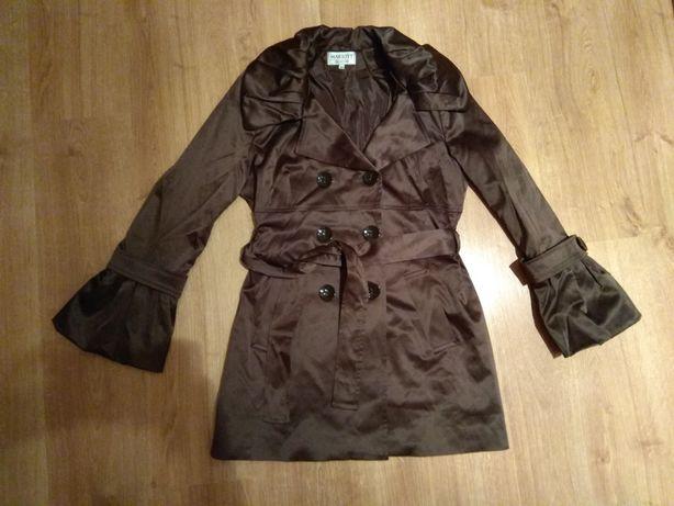 Płaszcz dziewczęcy Mariott brąz 38
