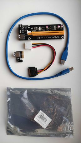 Райзери PCI-EXPRESS Molex Sata USB 3.0