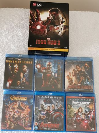 Blu Ray- Universo Marvel (v. 7fotos)