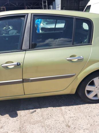 Drzwi Lewe Tył Tylne Renault Megane 2