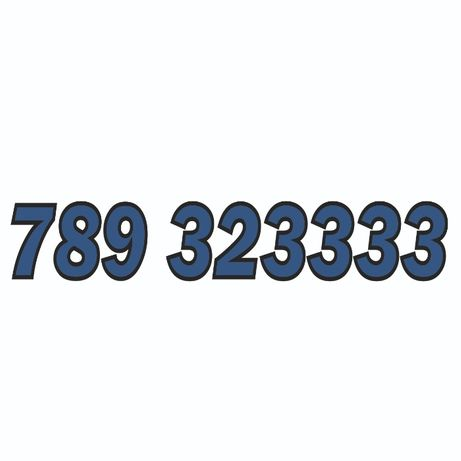 789_323333 - sprzedam złoty numer Orange.