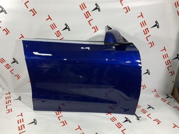 Telsa Model Y запчастини капот двері бампер фари крила